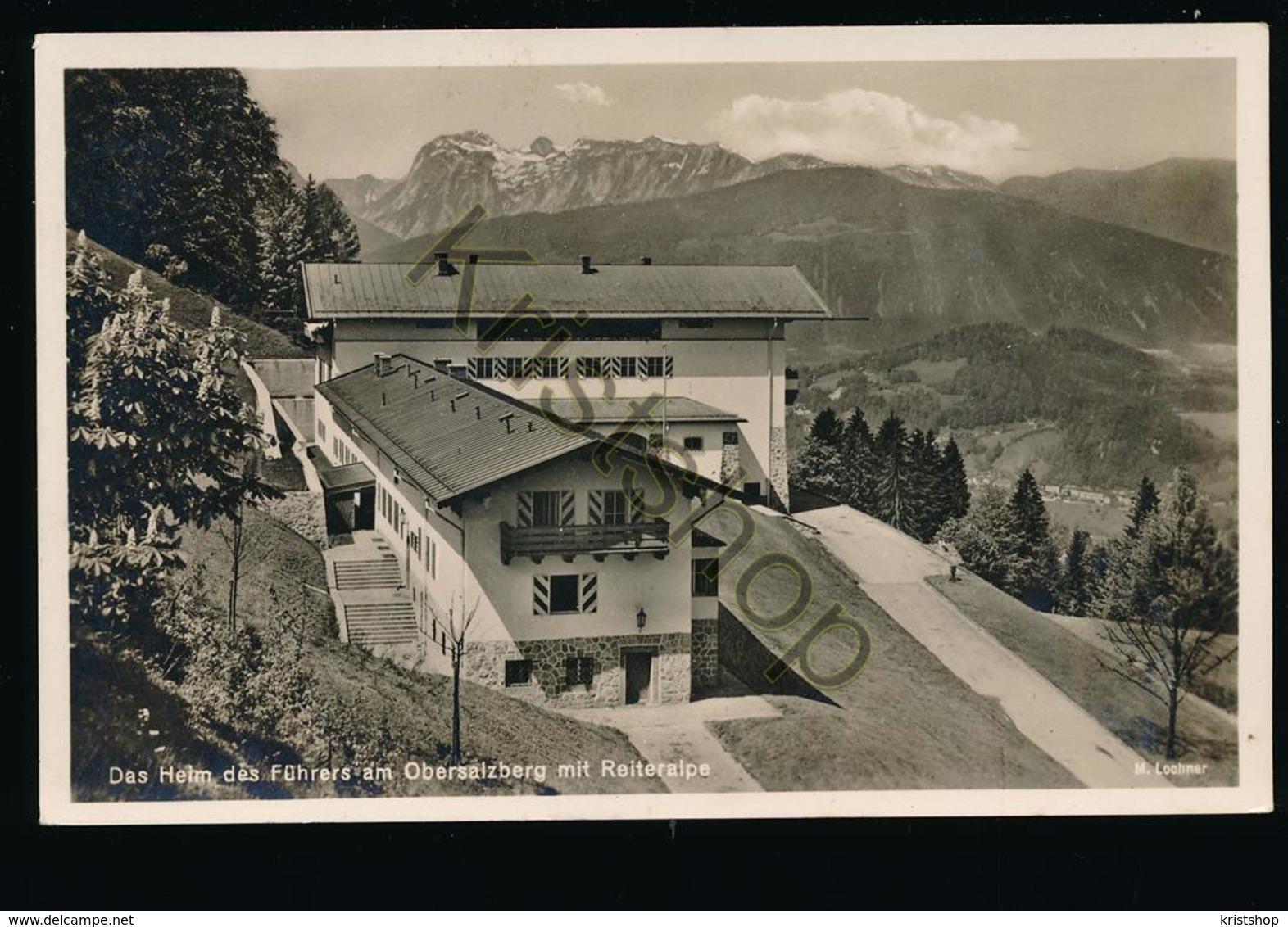 Das Heim Des Führers Am Obersalzberg Mit Reiteralpe [AA42-5.601 - Deutschland