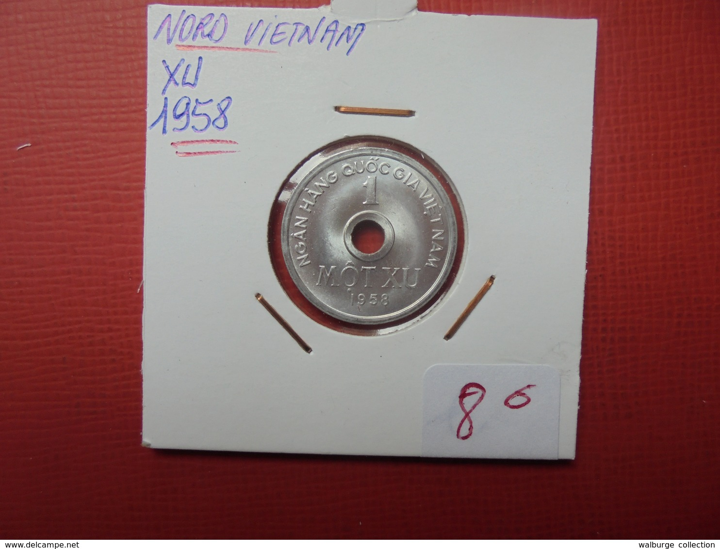 VIETNAM (NORD) 1 XU 1958 - Viêt-Nam