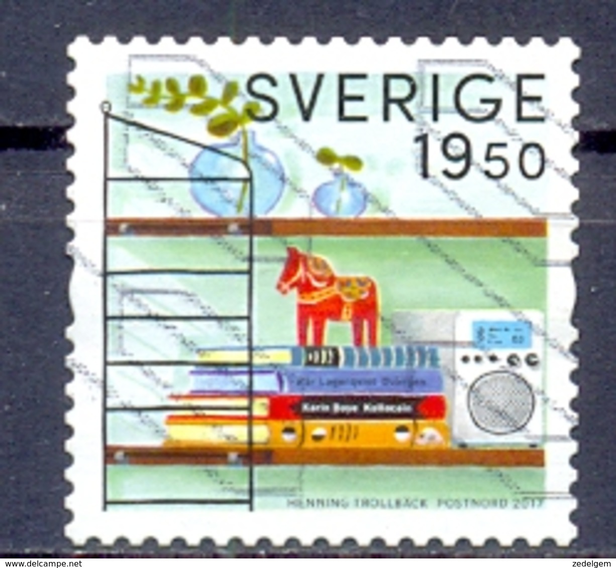 ZWEDEN   (CWEU 331) - Used Stamps