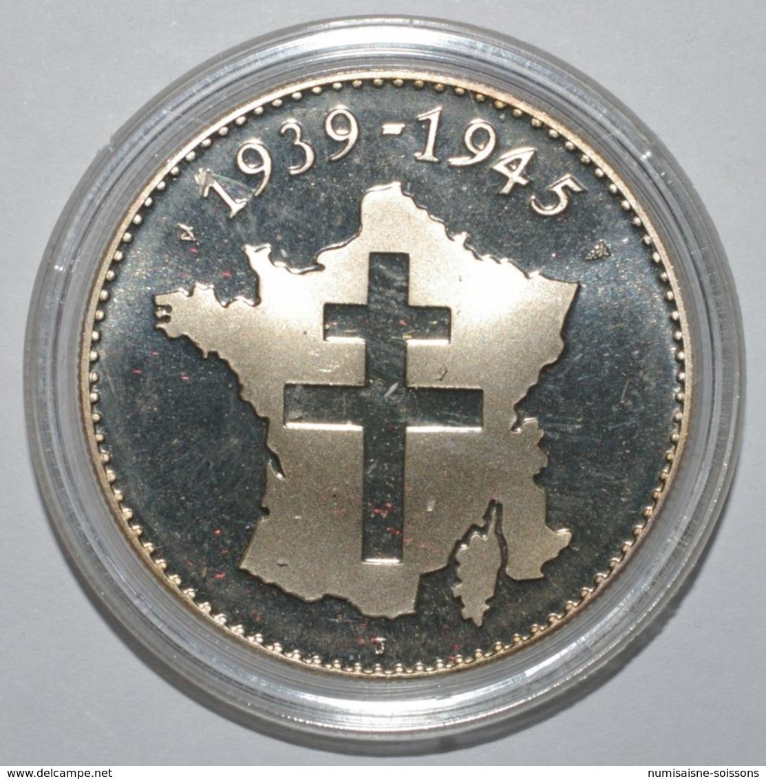 FRANCE - MÉDAILLE - SECONDE GUERRE MONDIALE 1939-1945 - YALTA 11 FEVRIER 1945 - BE - France