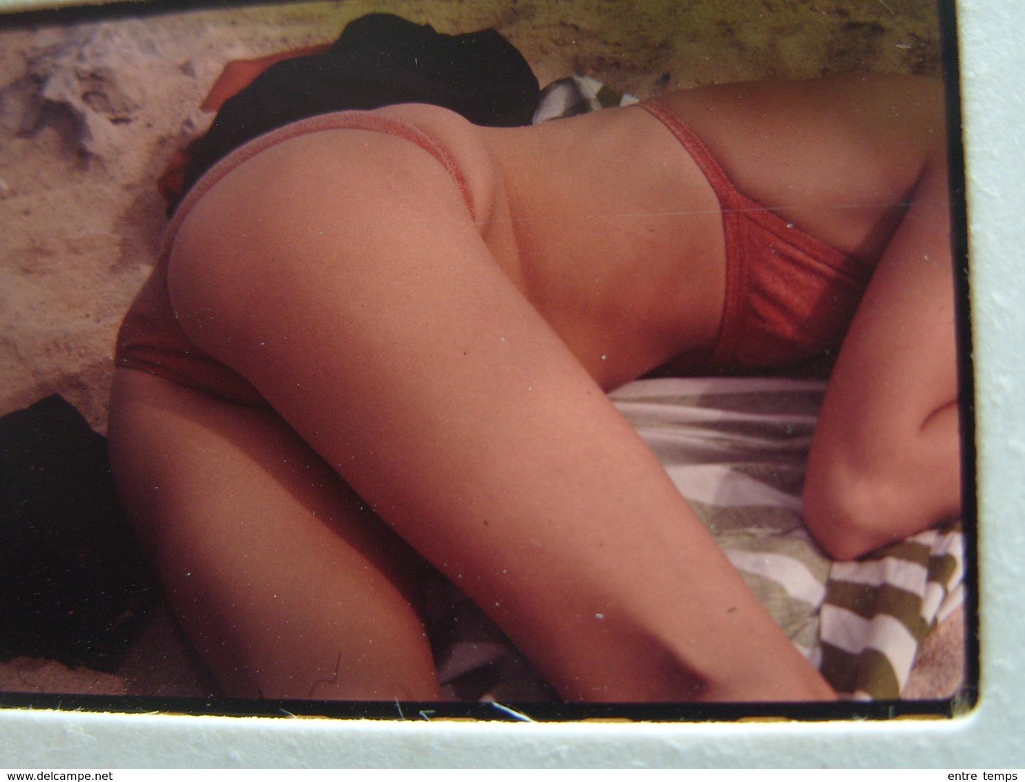 Diapo Fille Bikini Plage - Dias