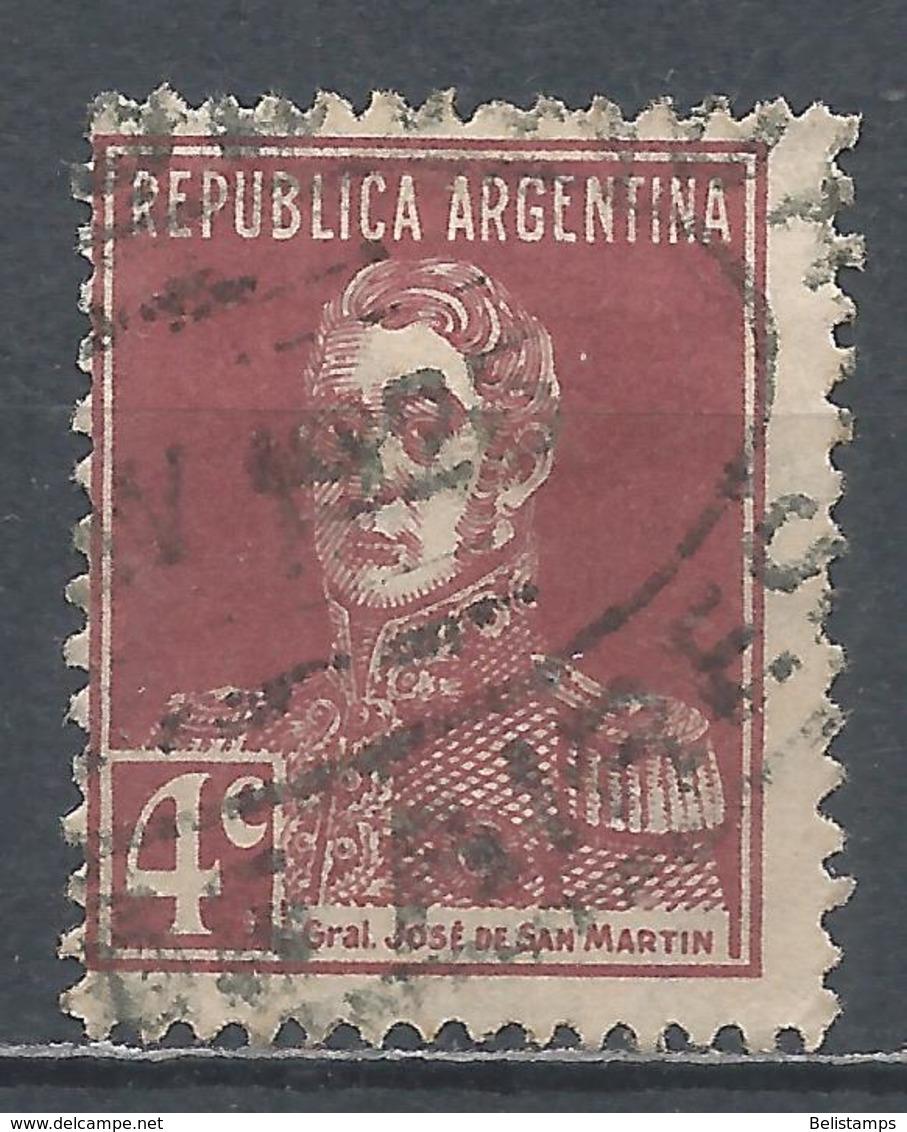 Argentina 1923. Scott #327 (U) General, Jose De San Martin * - Argentina