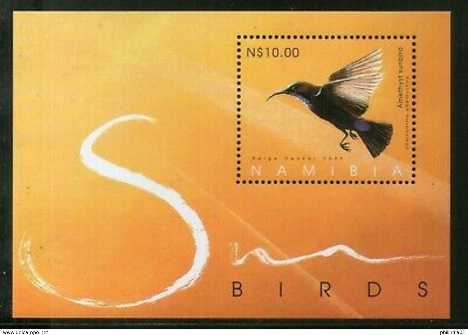 Namibia 2005 Sunbirds Wildlife Animals Fauna M/s Sc 1059 MNH # 13223 - Namibia (1990- ...)