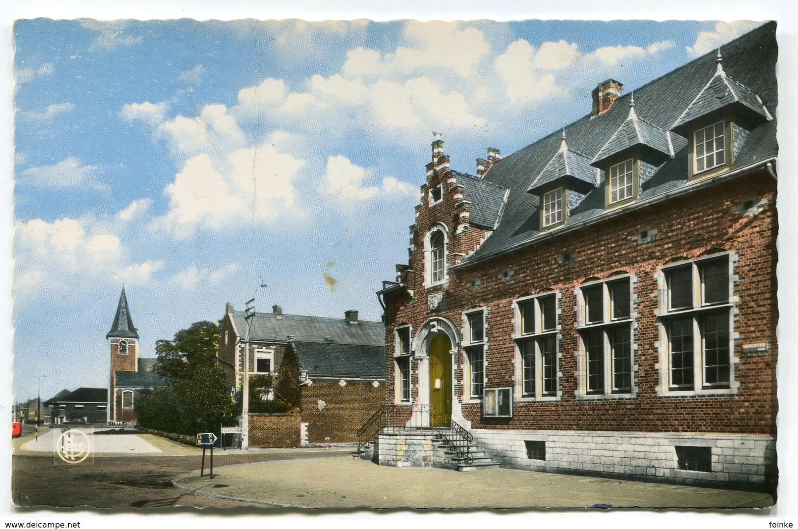 Tremelo - Gemeentehuis, Pastorij En Kerk - Tremelo