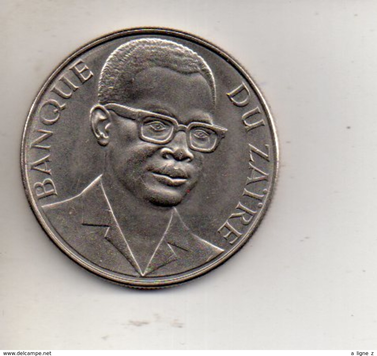 REF 1 : Monnaie Coin ZAIRE 1973 10 MAKUTA - Zaire (1971-97)