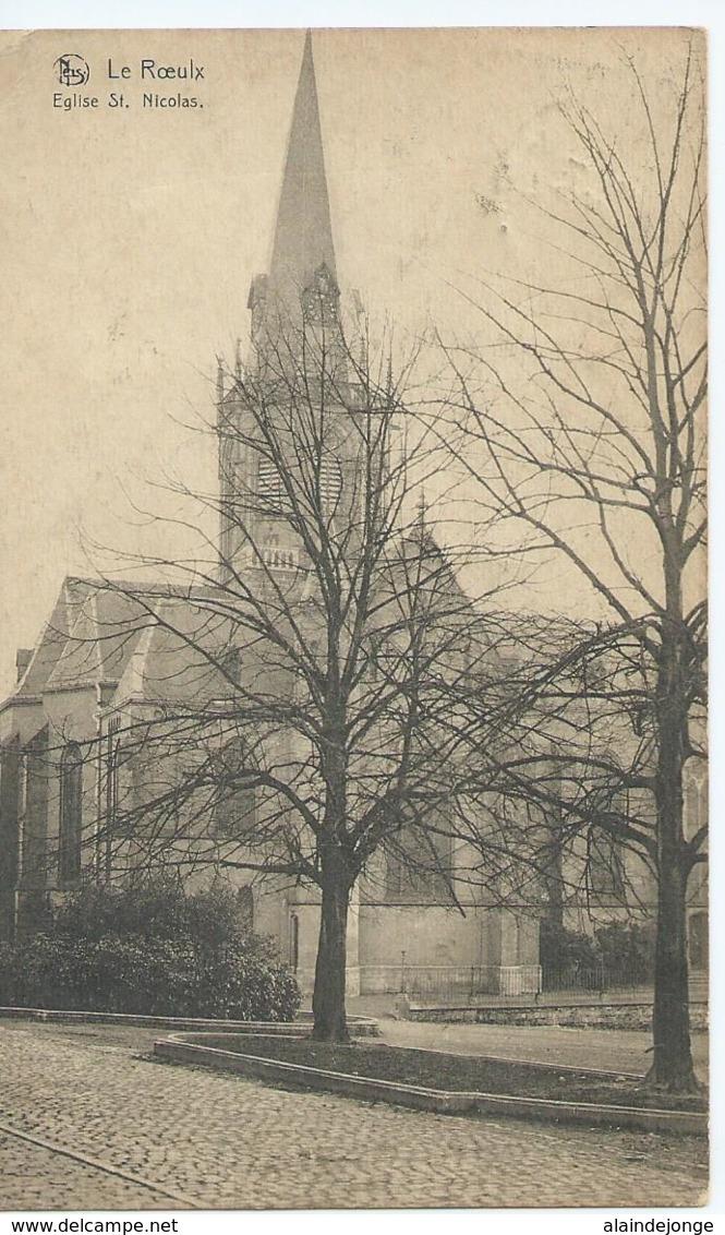 Le Roeulx - Eglise St. Nicolas - 1920 - Le Roeulx