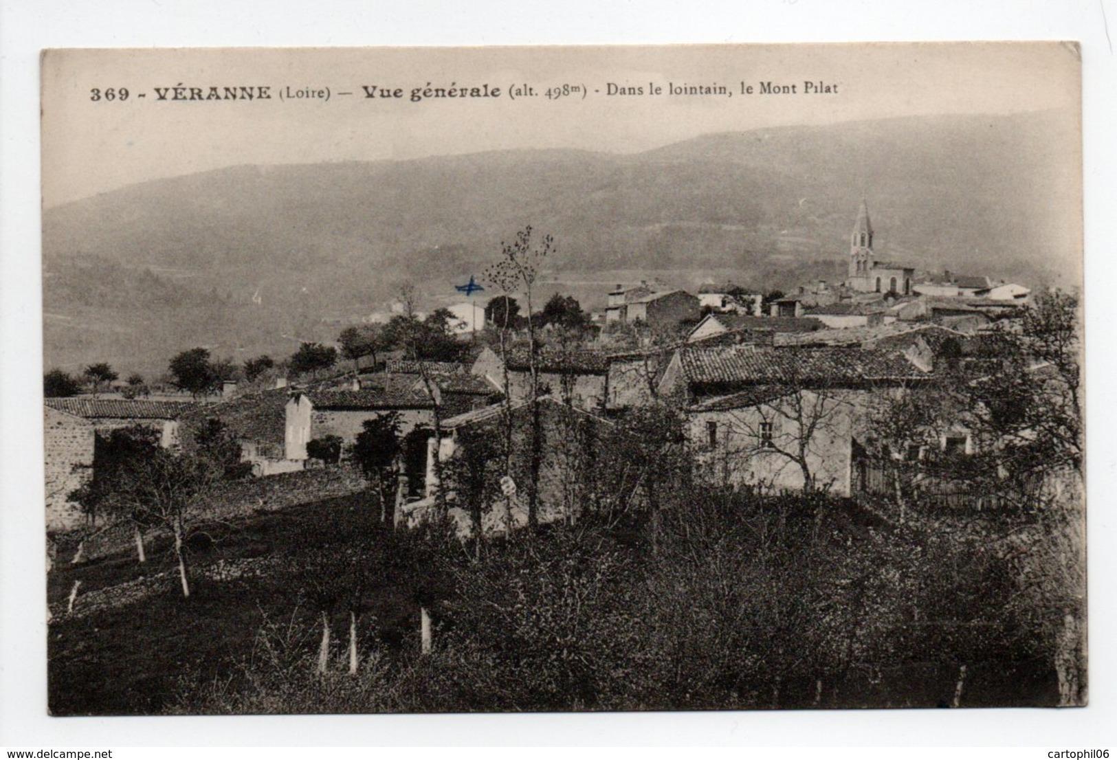- CPA VÉRANNE (42) - Vue Générale 1925 - - France