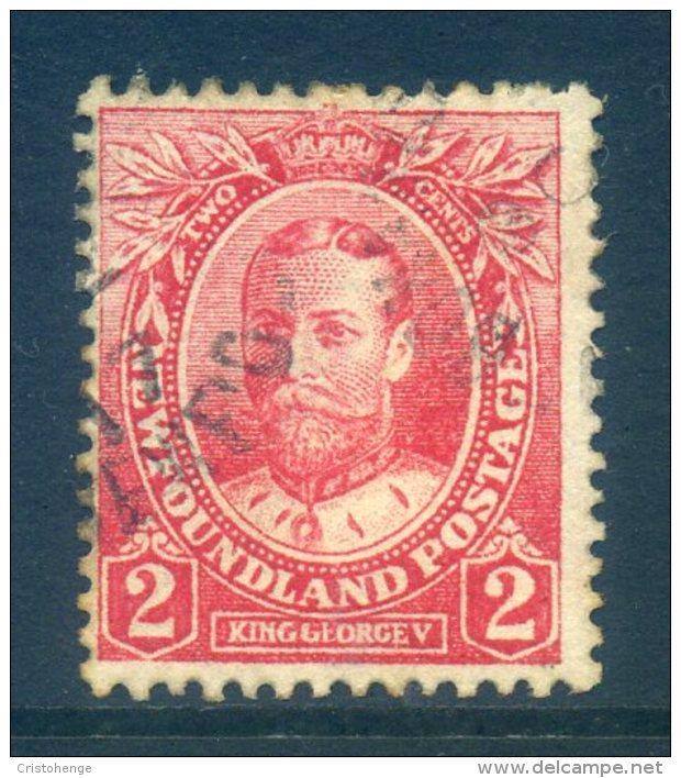 Newfoundland 1911-16 Coronation - 2c King George V - P.14 - Used (SG 118a) - 1908-1947