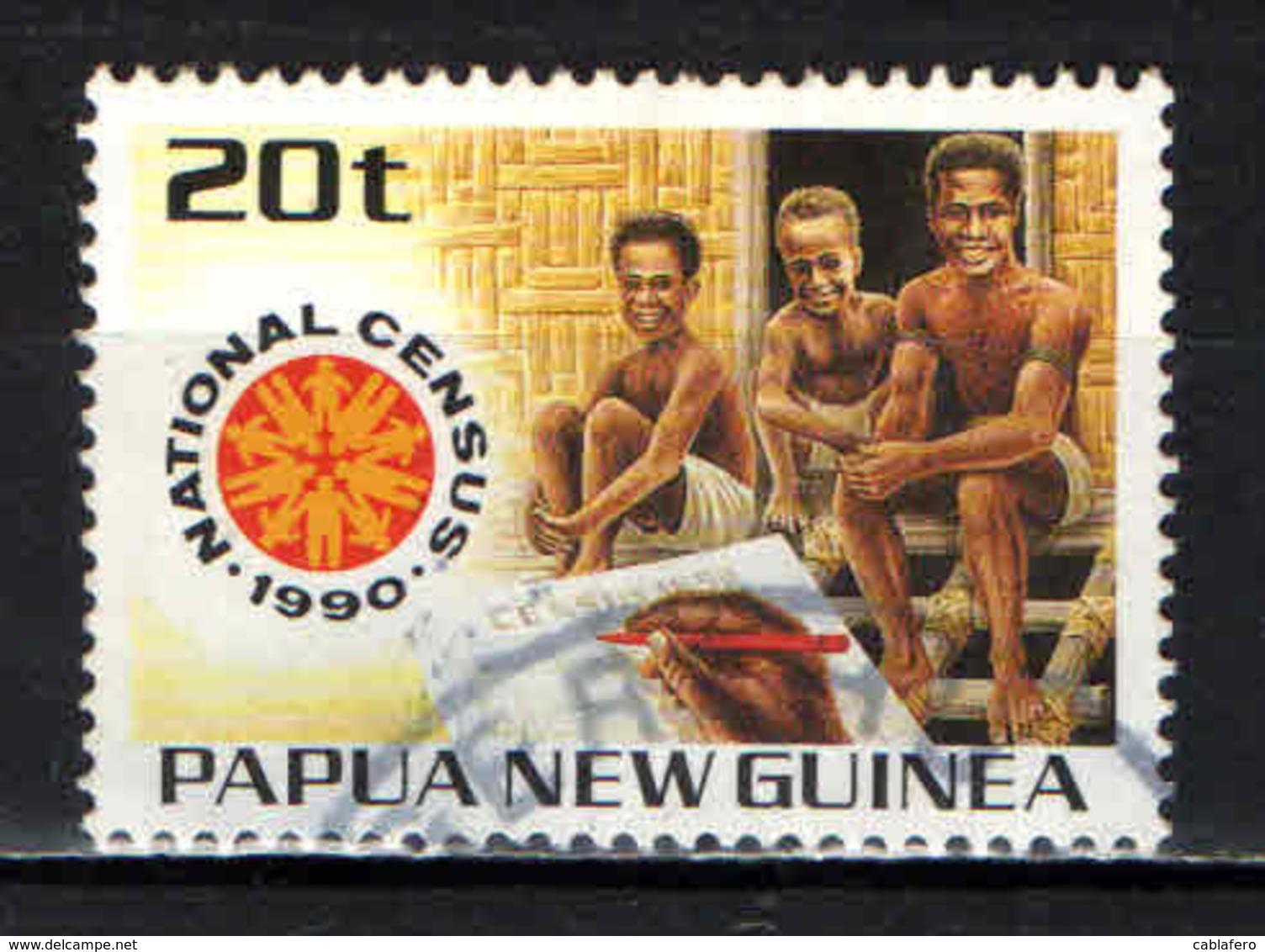 PAPUA NUOVA GUINEA - 1990 - Natl. Census - USATO - Papua Nuova Guinea