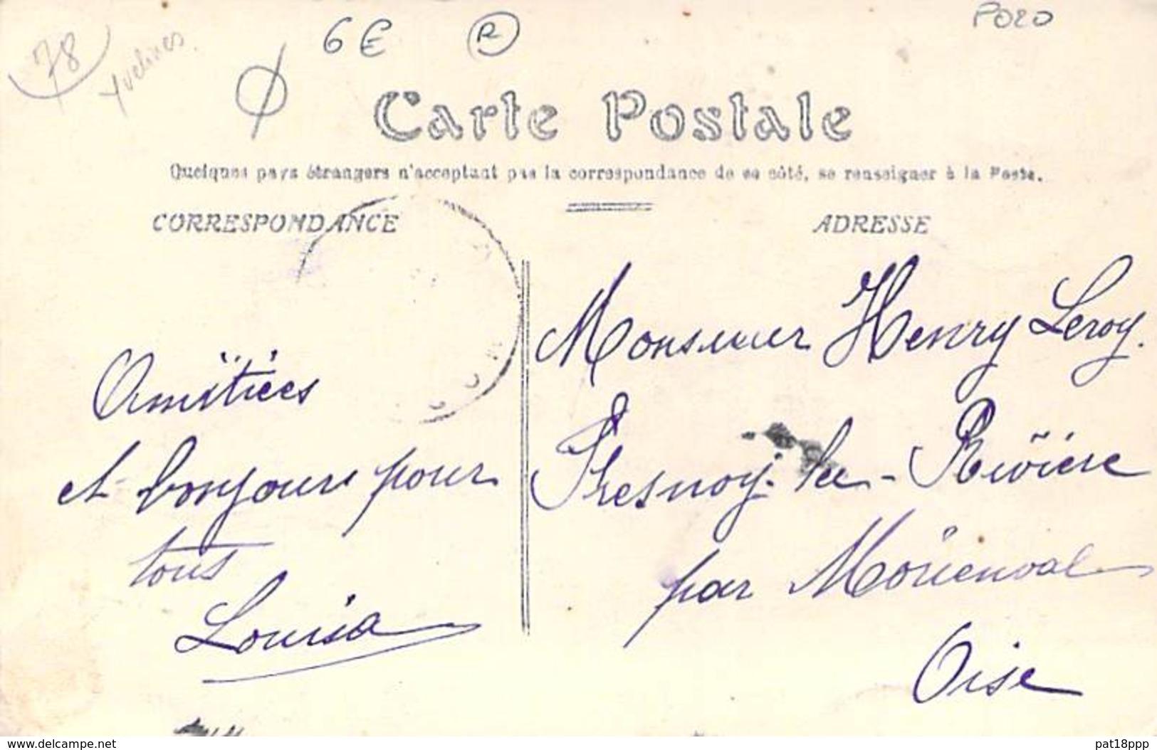 78 - MESNIL LE ROI : Boulevard Littré - CPA - Yvelines - Autres Communes