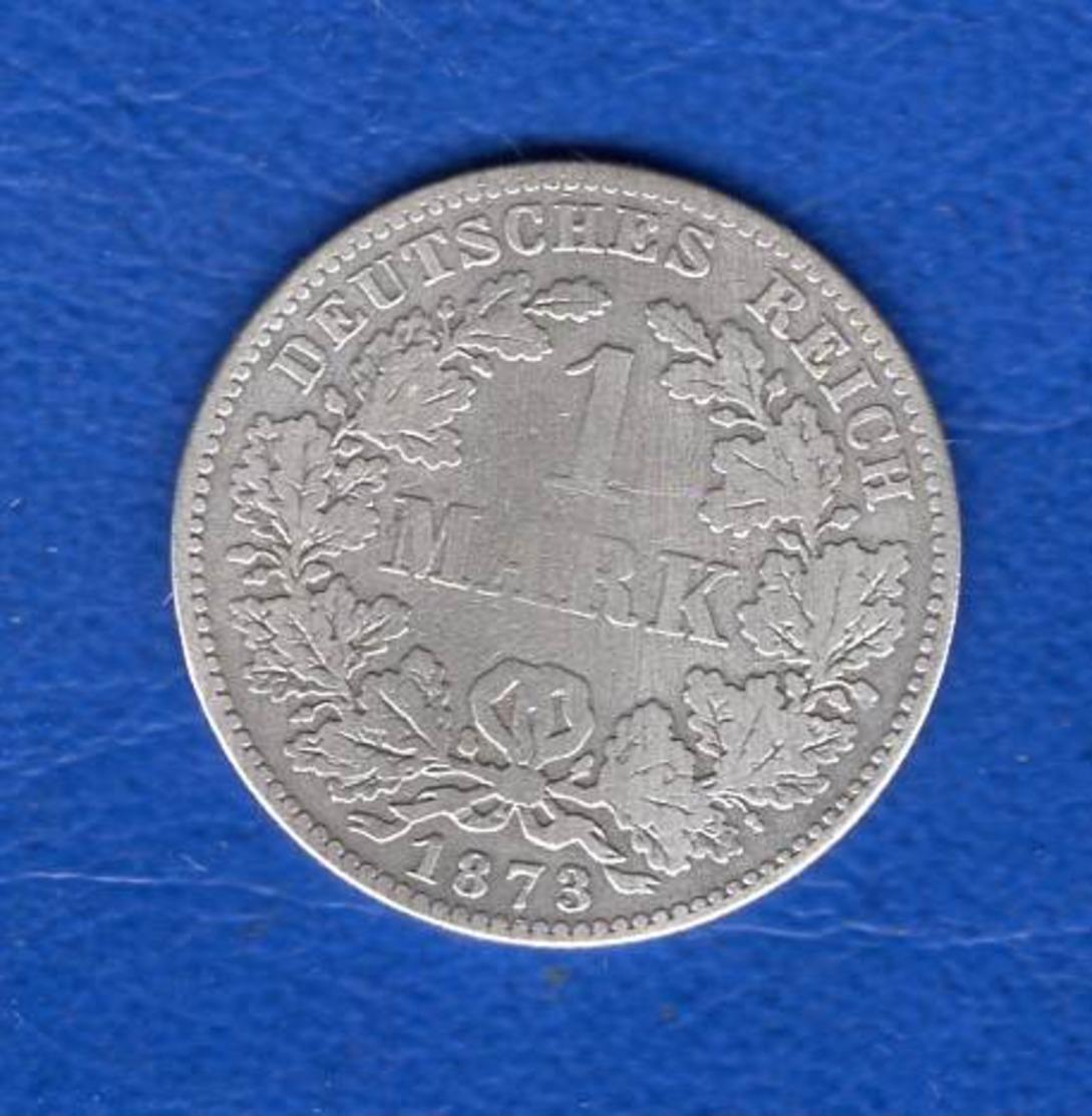 Mark  1873 F  Rare - [ 2] 1871-1918 : Empire Allemand