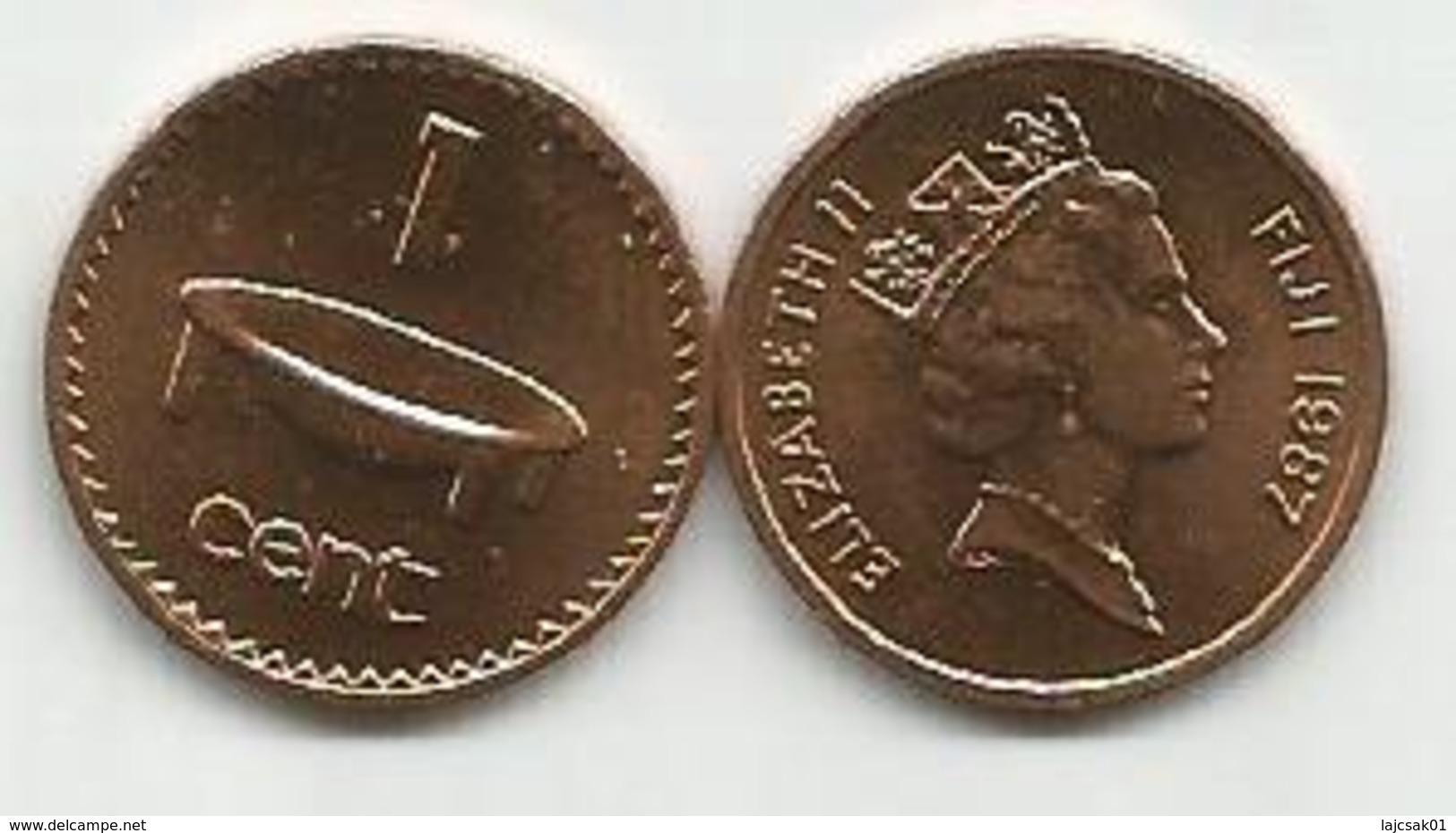 Fiji  1 Cent 1987. High Grade - Fiji