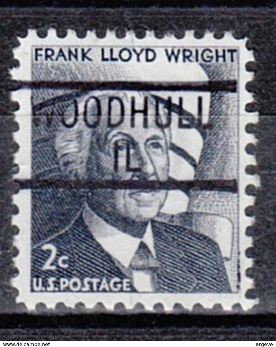 USA Precancel Vorausentwertung Preo, Locals Illinois, Woodhull 839 - Vereinigte Staaten