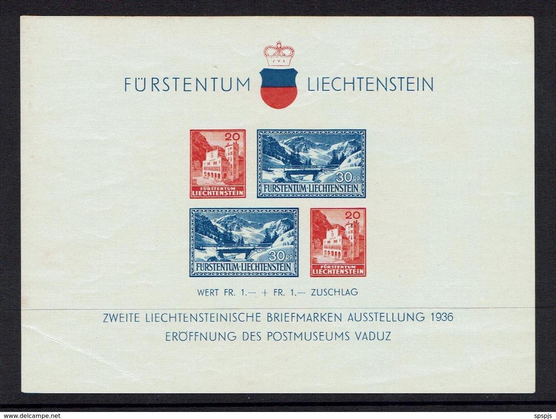 LIECHTENSTEIN...1936..MNH - Blocks & Sheetlets & Panes