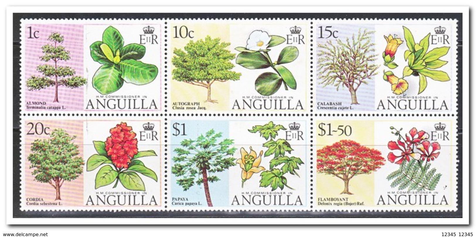 Anguilla 1976, Postfris MNH, Trees - Anguilla (1968-...)