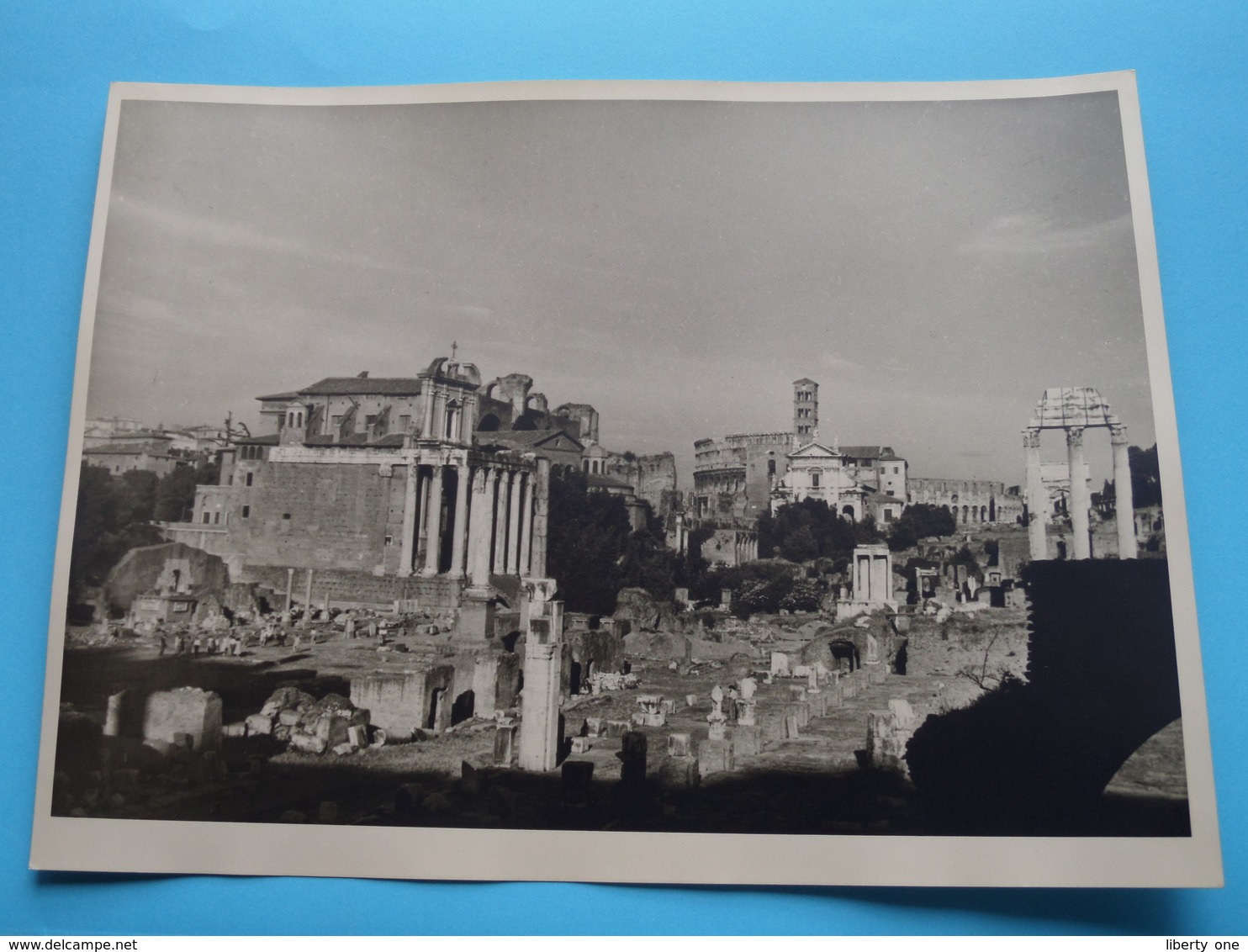 ROME Forum / Italy ( Format Photo 23,5 X 17,5 Cm. ) Anno 1951 ( Zie/Voir/See Photo ) ! - Lugares