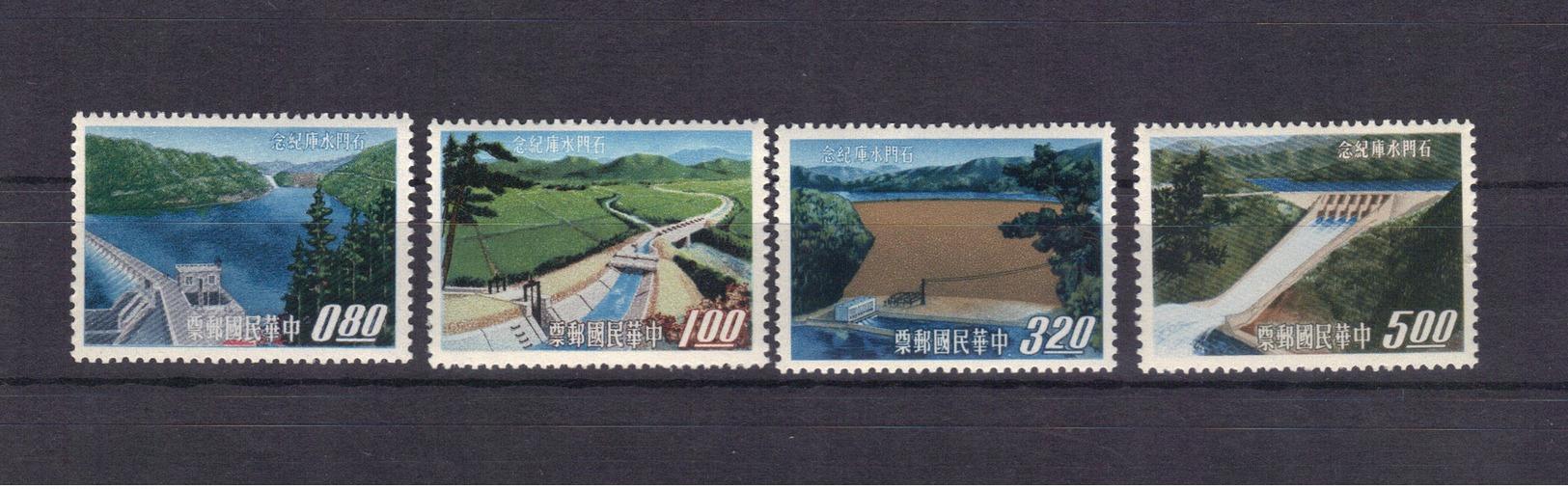Chine Taïwan - Formose 1964 472/75 Neufs** MNH (66) - Neufs
