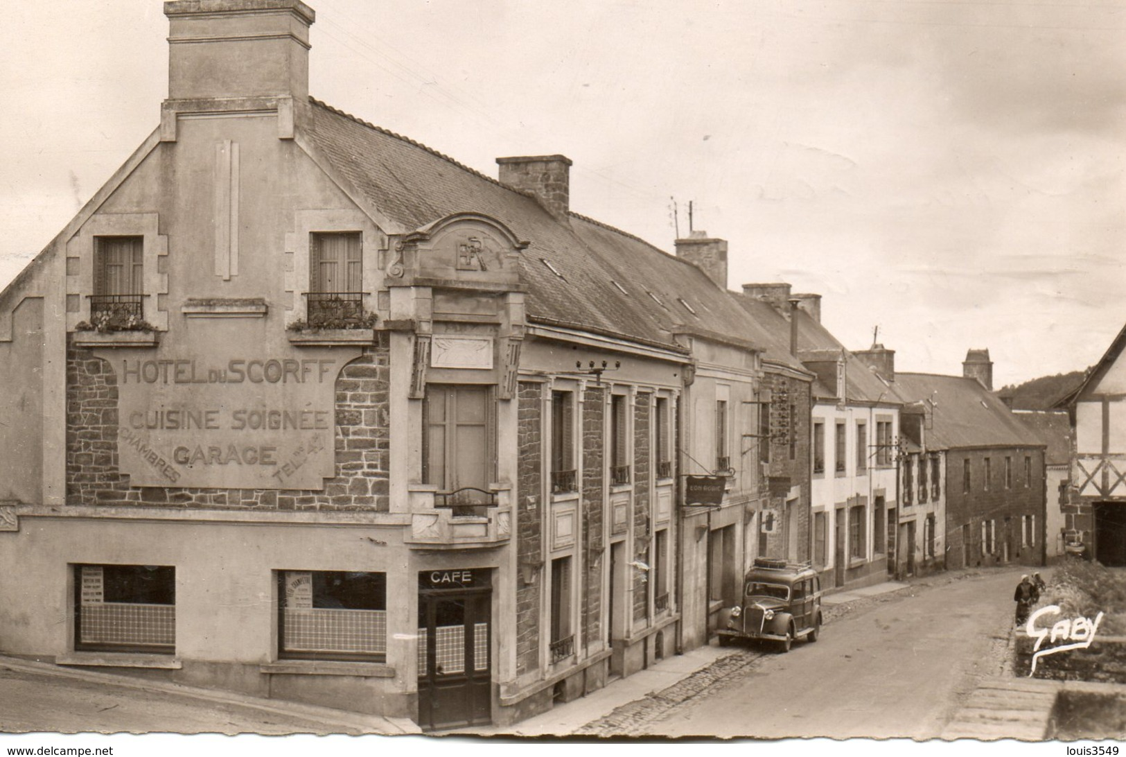 Guémené    Sur  Scorff -   Hôtel  Du  Scorff. - Guemene Sur Scorff