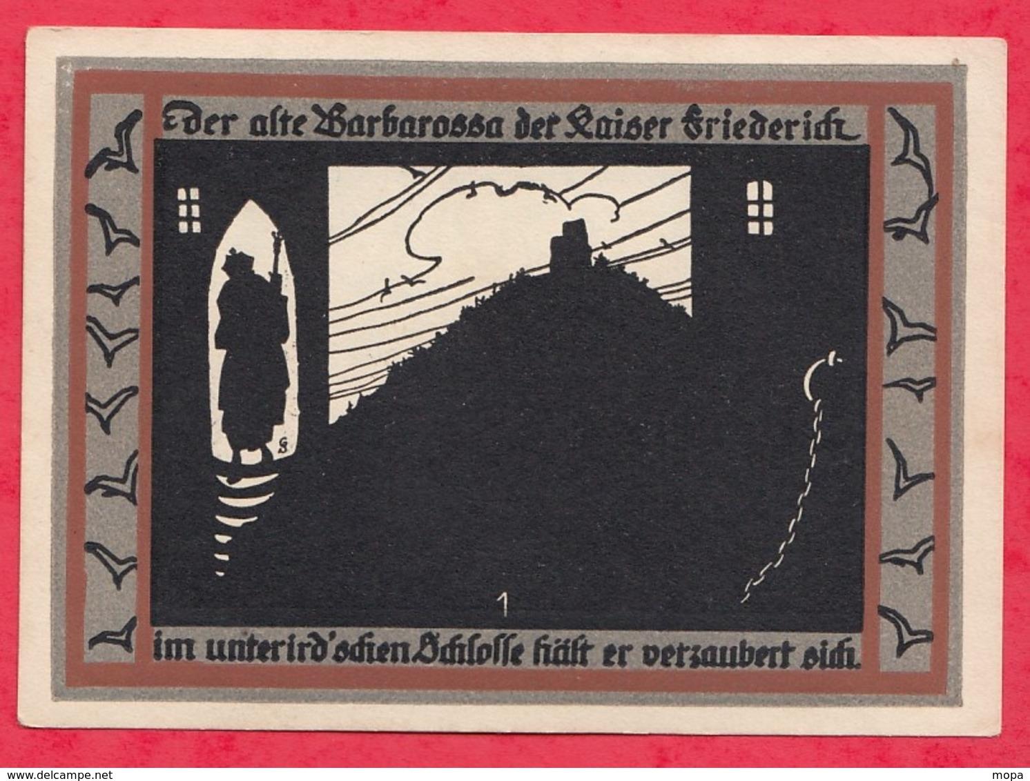 Allemagne 1 Notgeld De 50 Pfenning  Stadt Rossla  Dans L 'état  - N°3638 - Collections