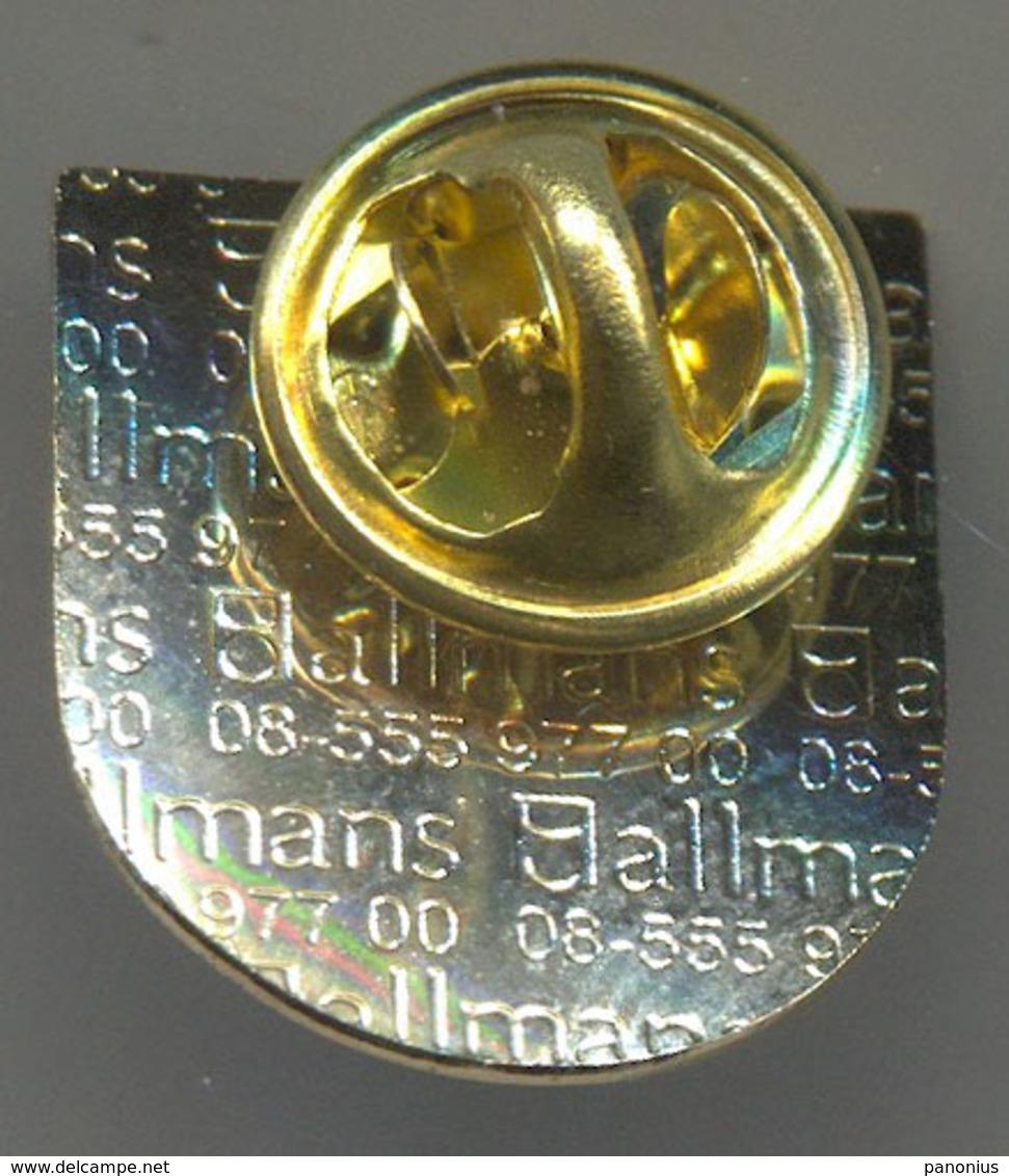 HANDBALL BALONMANO - Sweden, Federation, Association, Pin, Badge, Abzeichen - Pallamano