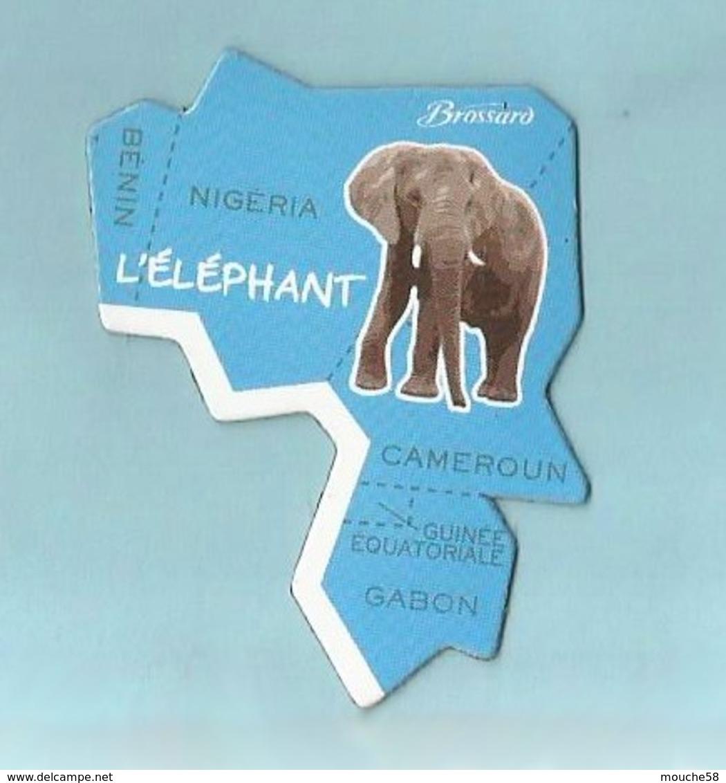 Magnet Brossard Collection Afrique L éléphant - Animaux & Faune