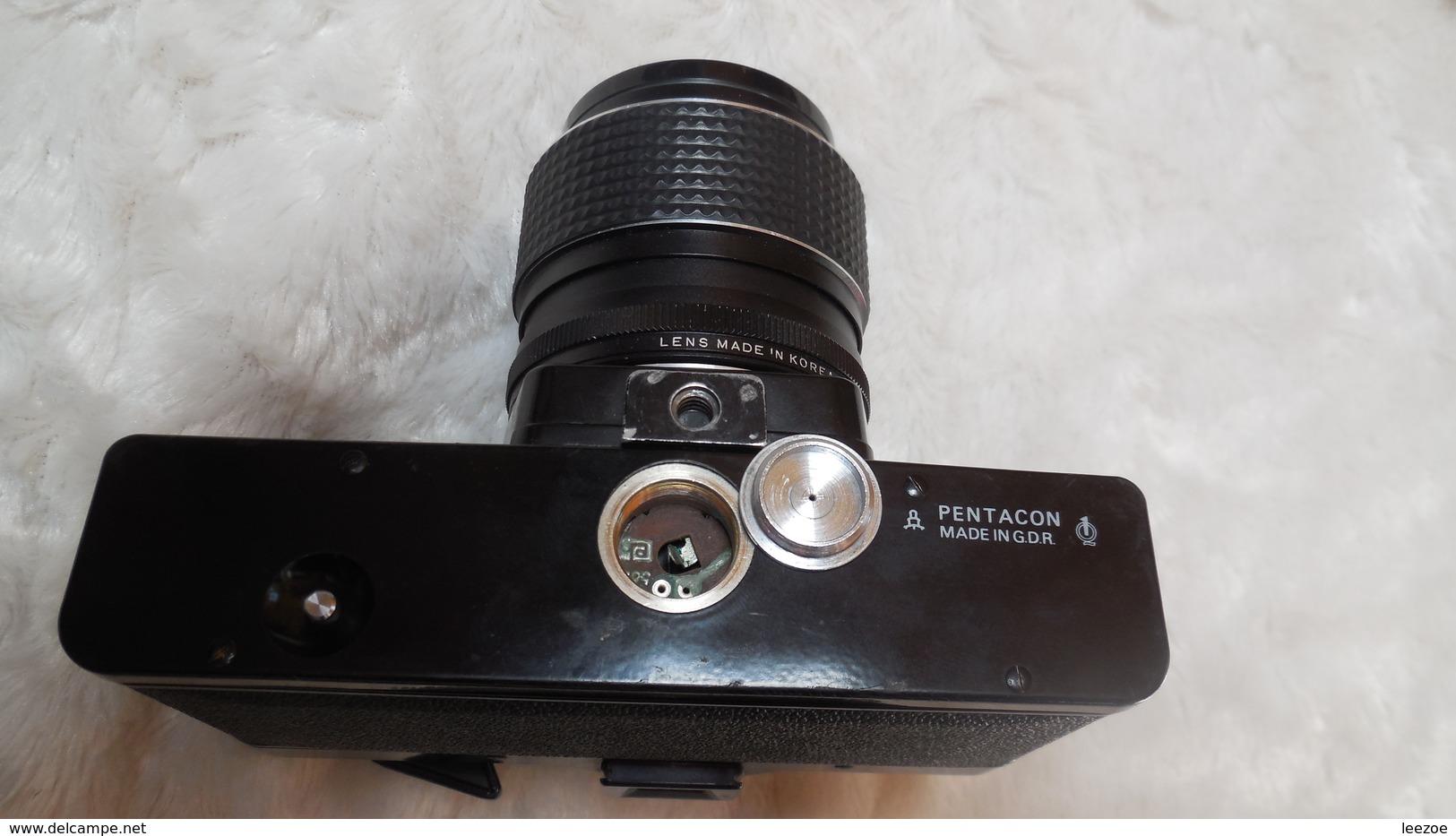 Appareil Photo PRAKTICA, Objectif Carenar 1:2.8, F= 28mm, - Appareils Photo