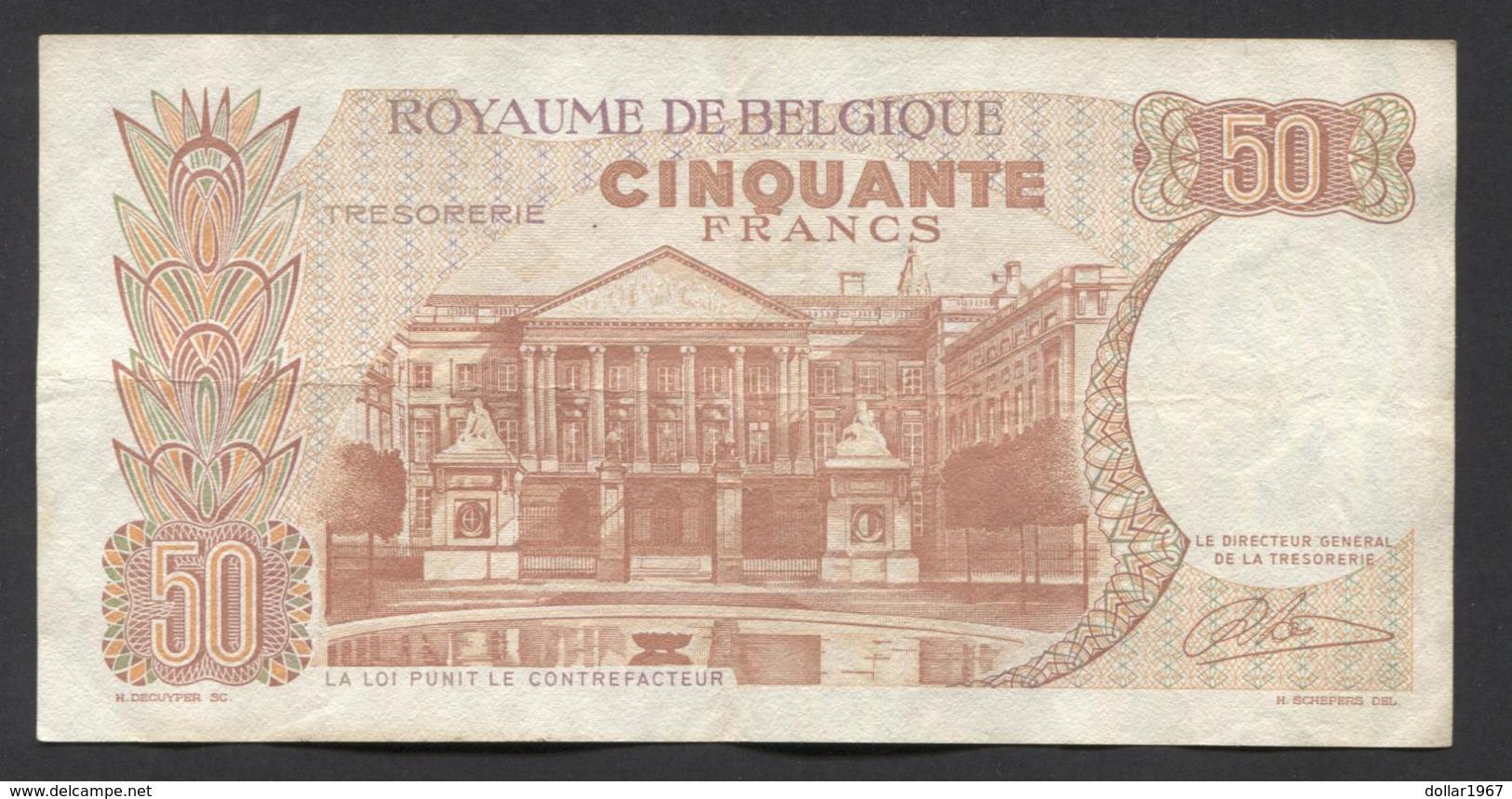 België 50 Frank 14-5- 1966 -NO: 1507 A 6465 - [ 6] Treasury