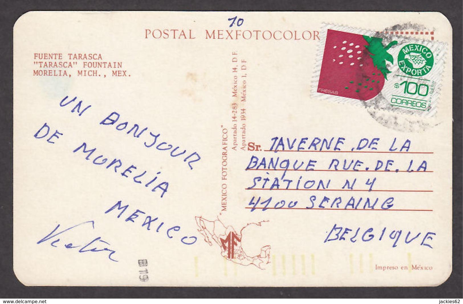 71034/ MORELIA, *Tarasca* Fountain - Mexique
