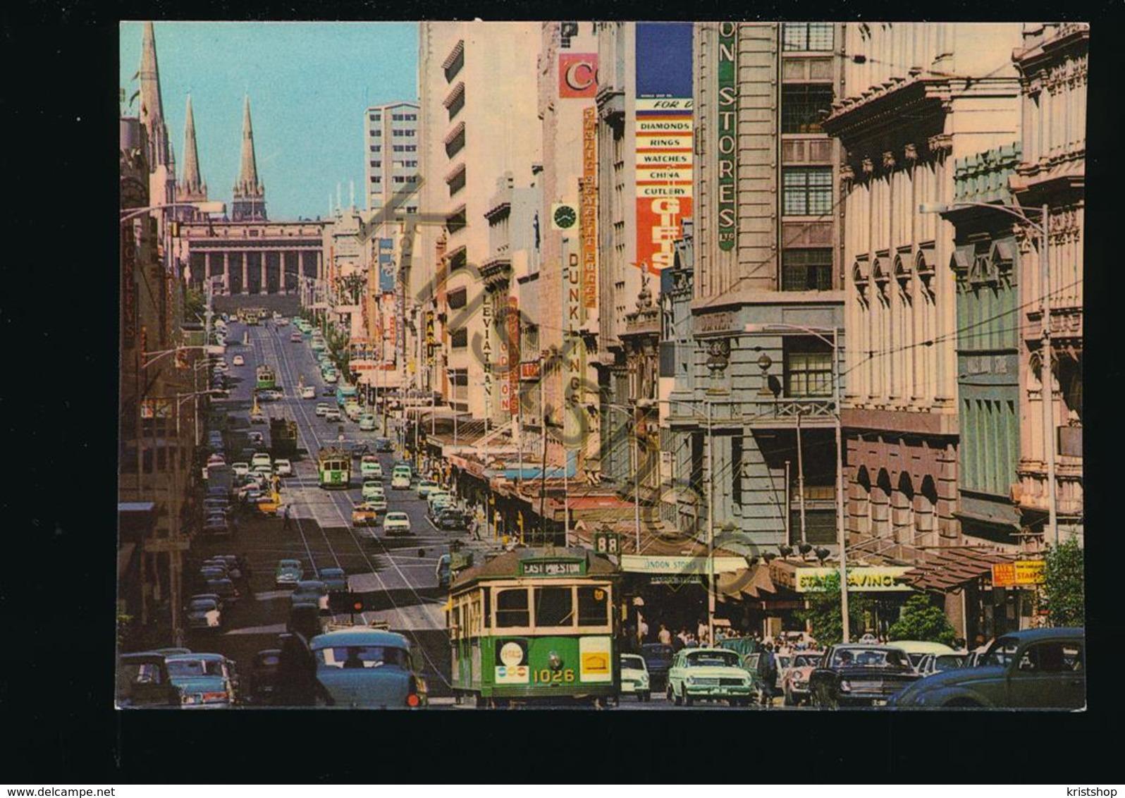 Australia - Melbourne - Bourke Street [AA43-1.029 - Australien
