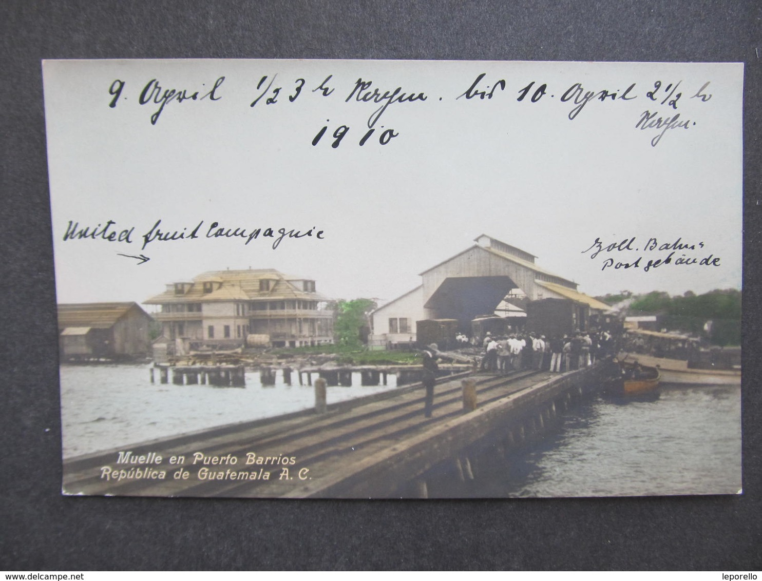 AK GUATEMALA Purto Barrios Ca.1910 // D*38064 - Guatemala