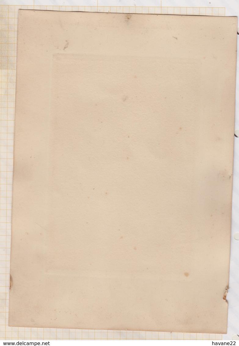 9AL1161 Image Pieuse - SANCTA VIRGO VIRGINUM 1917 DIMENSION TOTALE  25X 17.5 CM.... - Images Religieuses