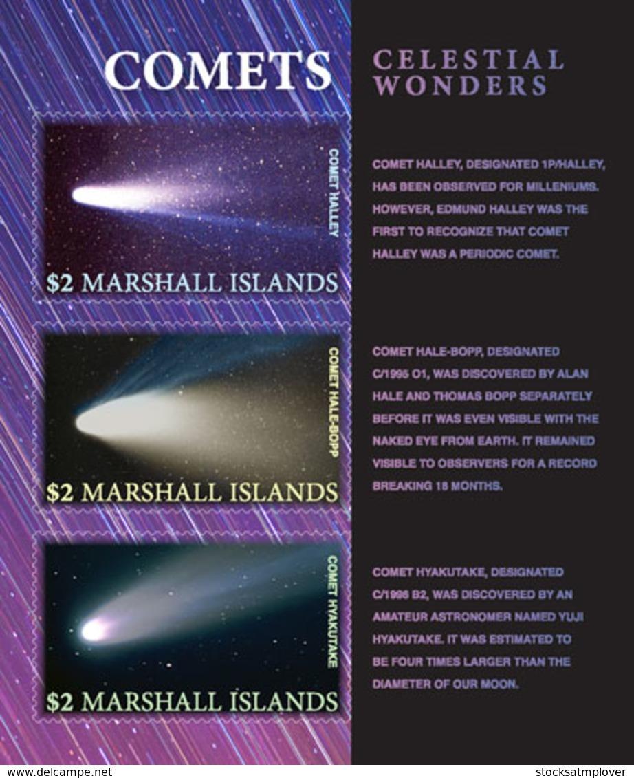 Marshall Islands   2018  Comets  Self Adhesive    I201901 - Marshall Islands