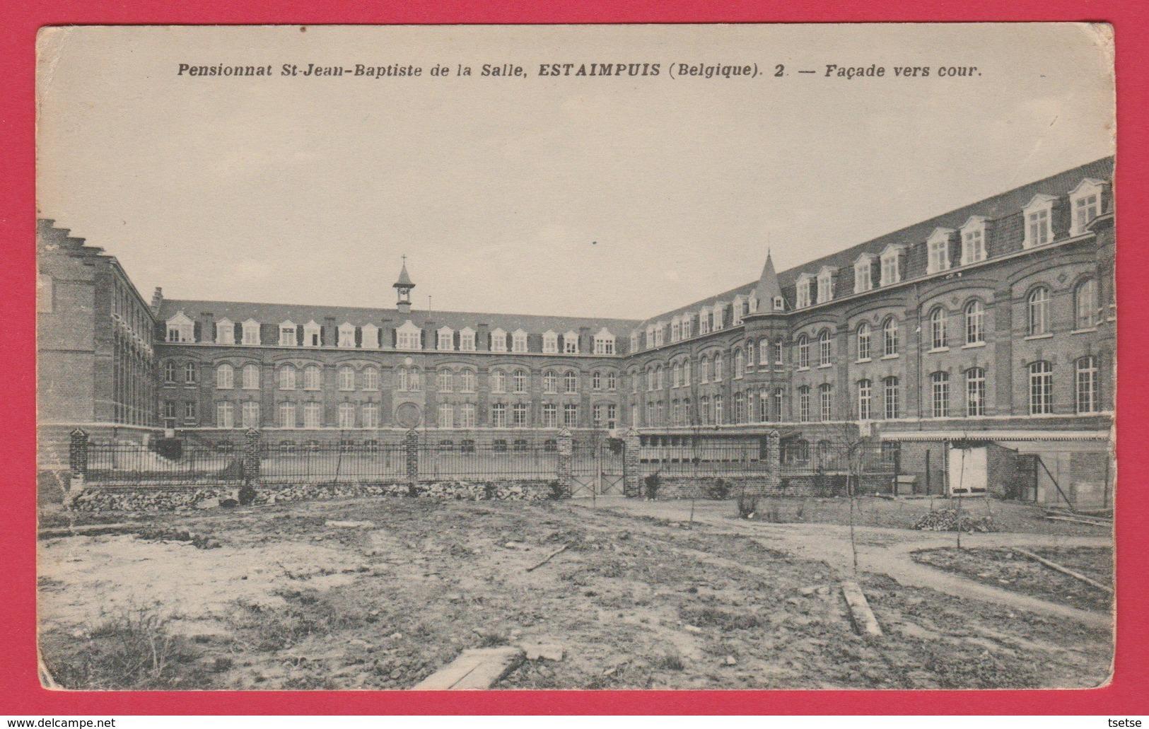 Estaimpuis - Pensionnat St Jean-Baptiste De La Salle - Façade Vers Cour  ( Voir Verso ) - Estaimpuis