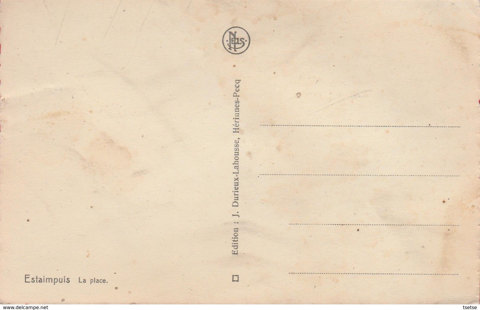 Estaimpuis - La Place ( Voir Verso ) - Estaimpuis