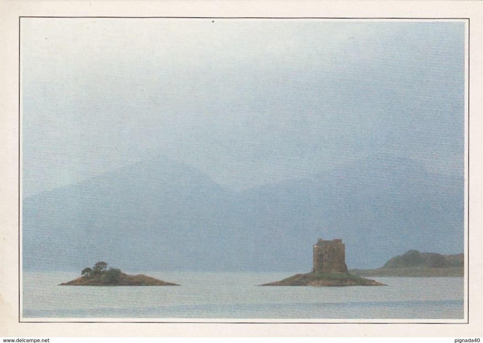 Carte  , ECOSSE , Loch Linnhe , Stalker Castle - Autres