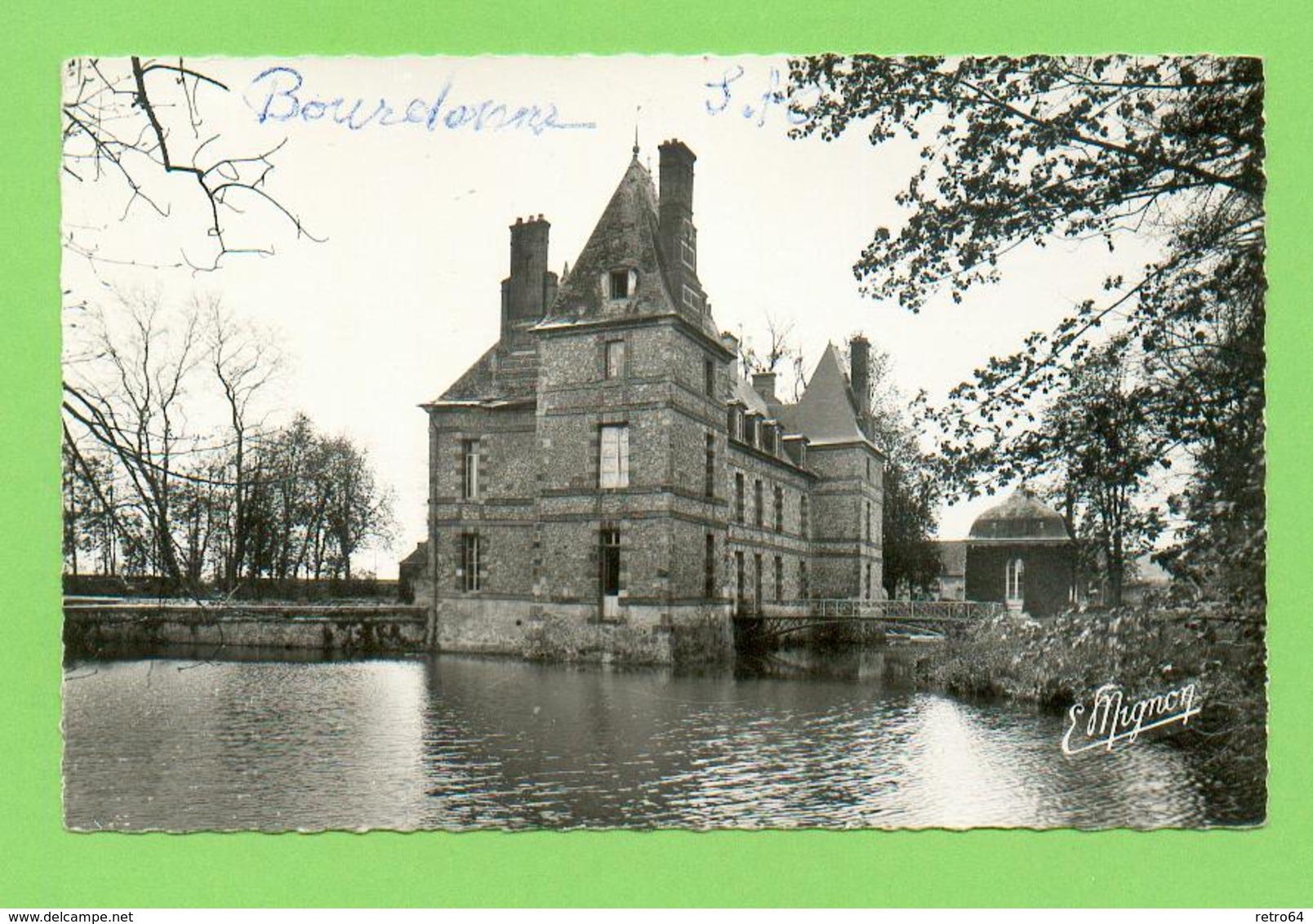 CPSM FRANCE 78  ~  BOURDONNE  ~  7693  Le Château Où Mourut José-Maria De Hérédia En 1905  ( Mignon Dentelée 1963 ) - Autres Communes