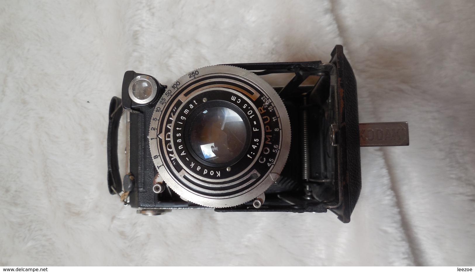 Appareil Photo Kodak Folding Vollenda 620 Type 107 - Appareils Photo