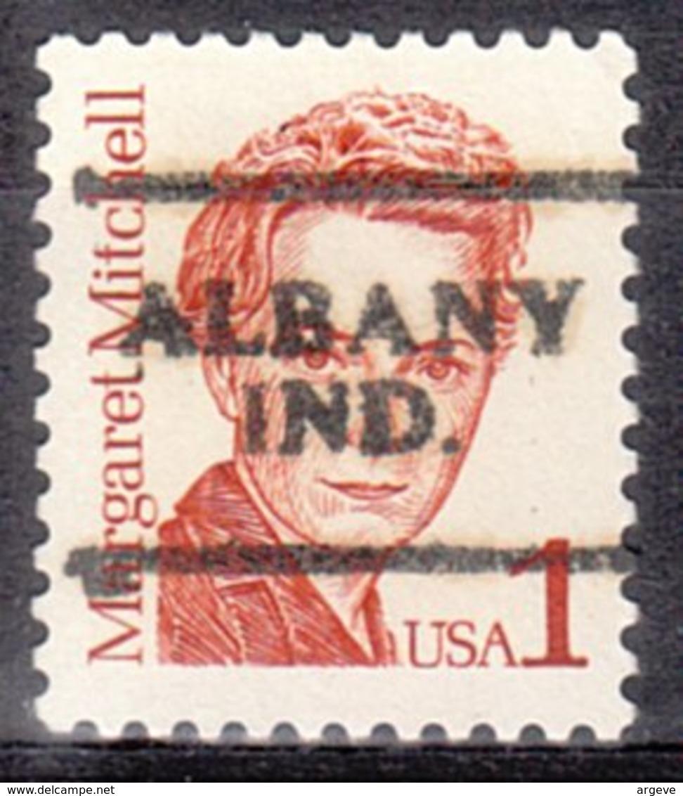 USA Precancel Vorausentwertung Preo, Locals Indiana, Albany 701 - Vereinigte Staaten
