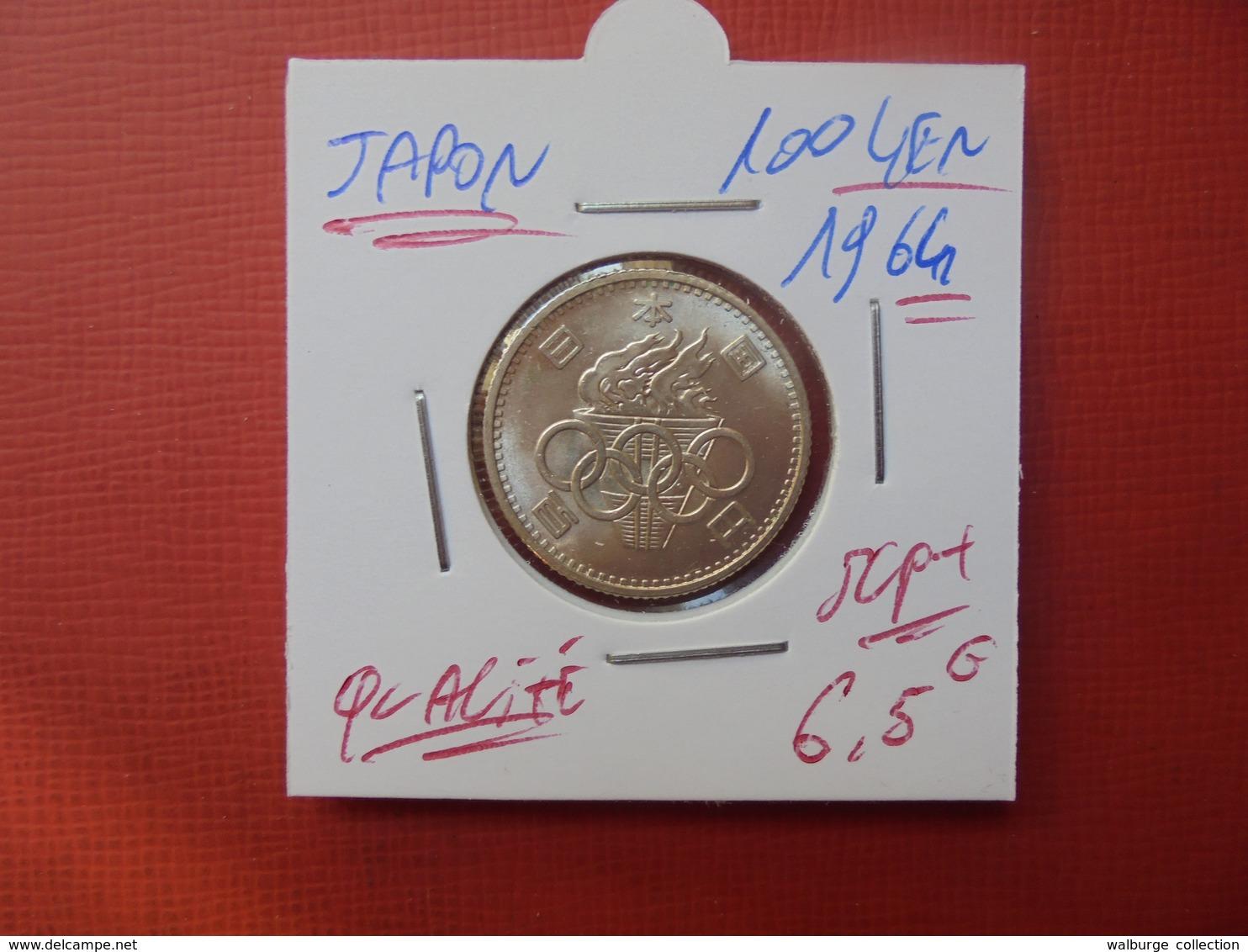 JAPON 100 YEN 1964 ARGENT SUPERBE+++ - Japan