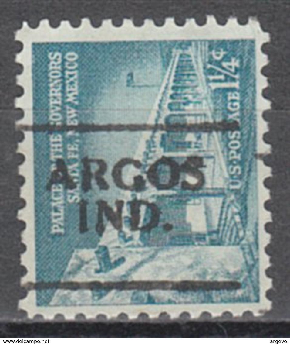 USA Precancel Vorausentwertung Preo, Locals Indiana, Argos 701 - Vereinigte Staaten