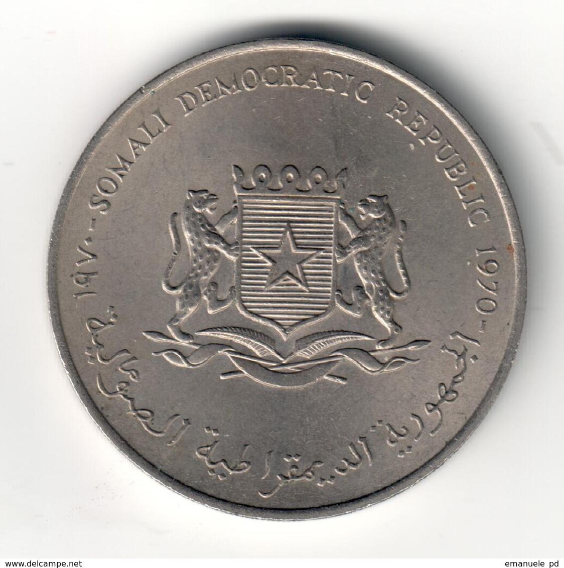 Somalia 5 Shillings 1970 FAO - Somalia