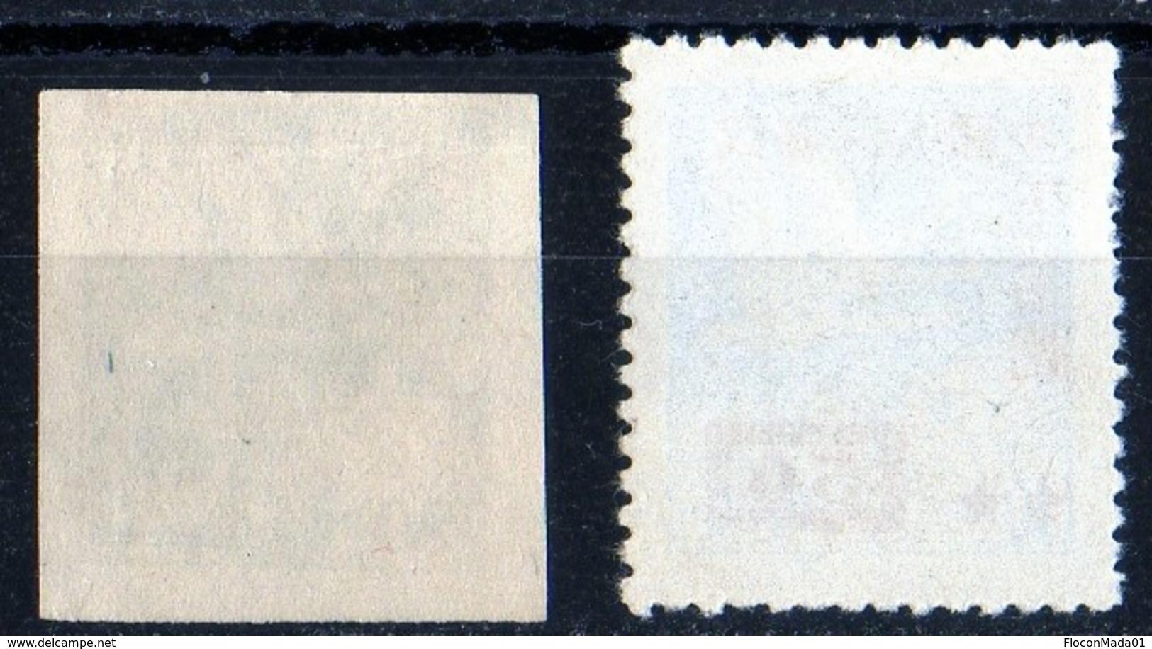 Swan Cygne 1950 Overprint 50, 100   100 Non Serrated - Neufs
