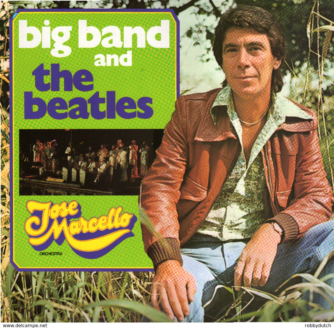 * LP *  JOSÉ MARCELLO ORCHESTRA - BIG BAND AND THE BEATLES - Instrumental