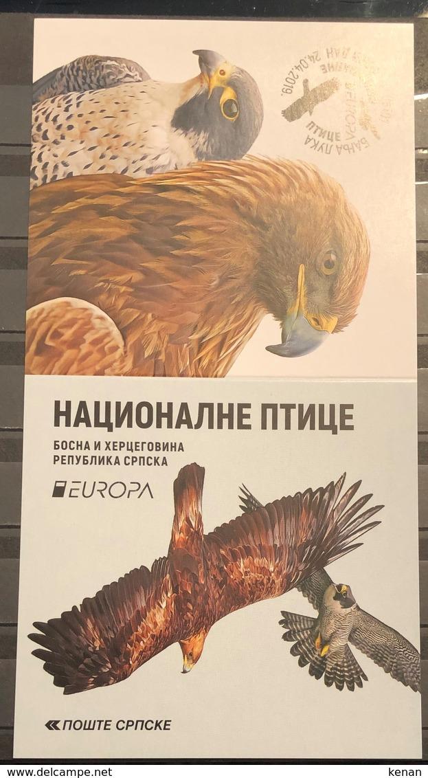 Bosnia And Hercegovina,  Republic Of Srpska, 2019, EUROPA Stamps - National Birds ,Booklet (MNH) - Bosnia Herzegovina