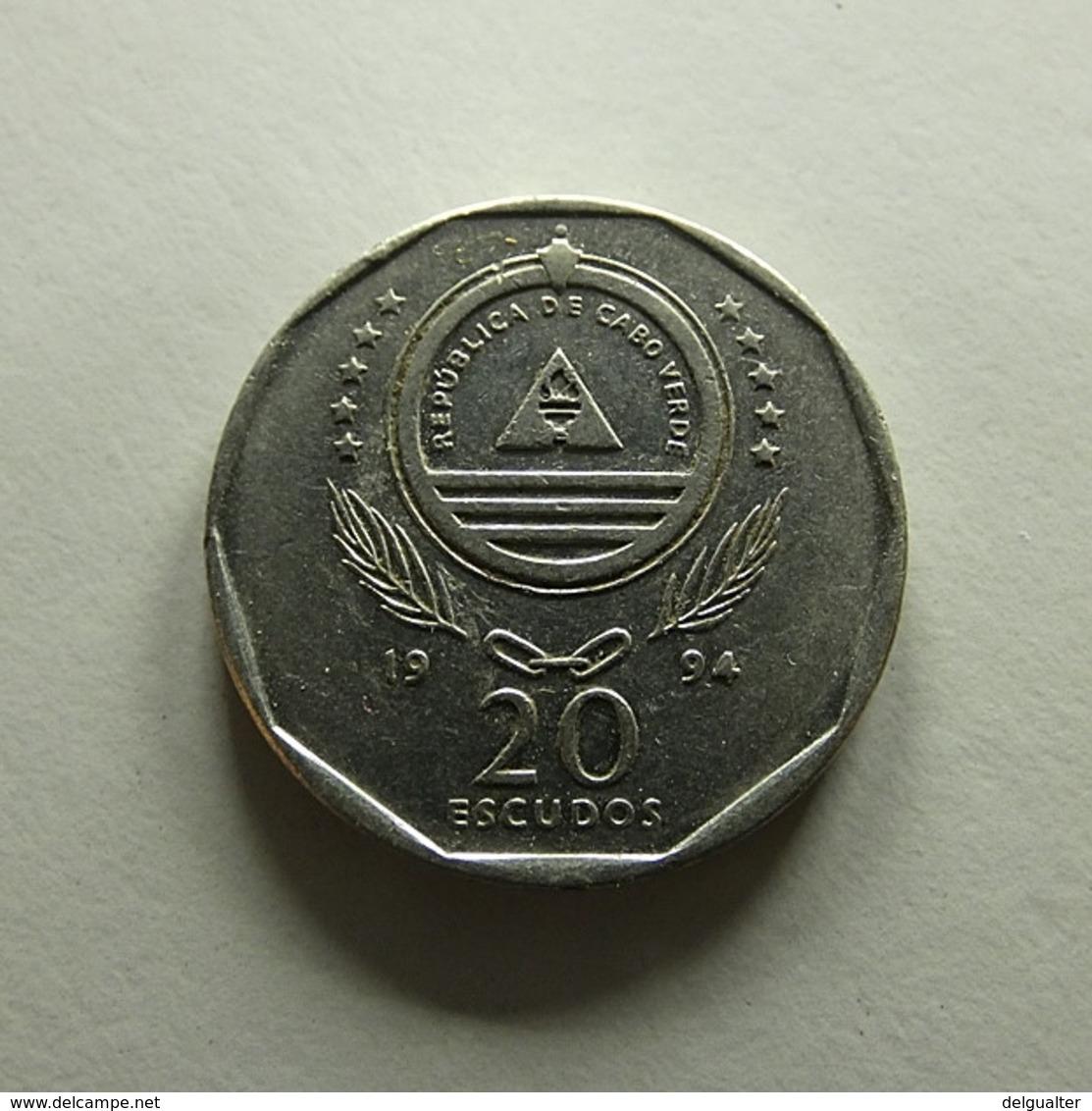 Cabo Verde 20 Escudos 1994 - Cape Verde