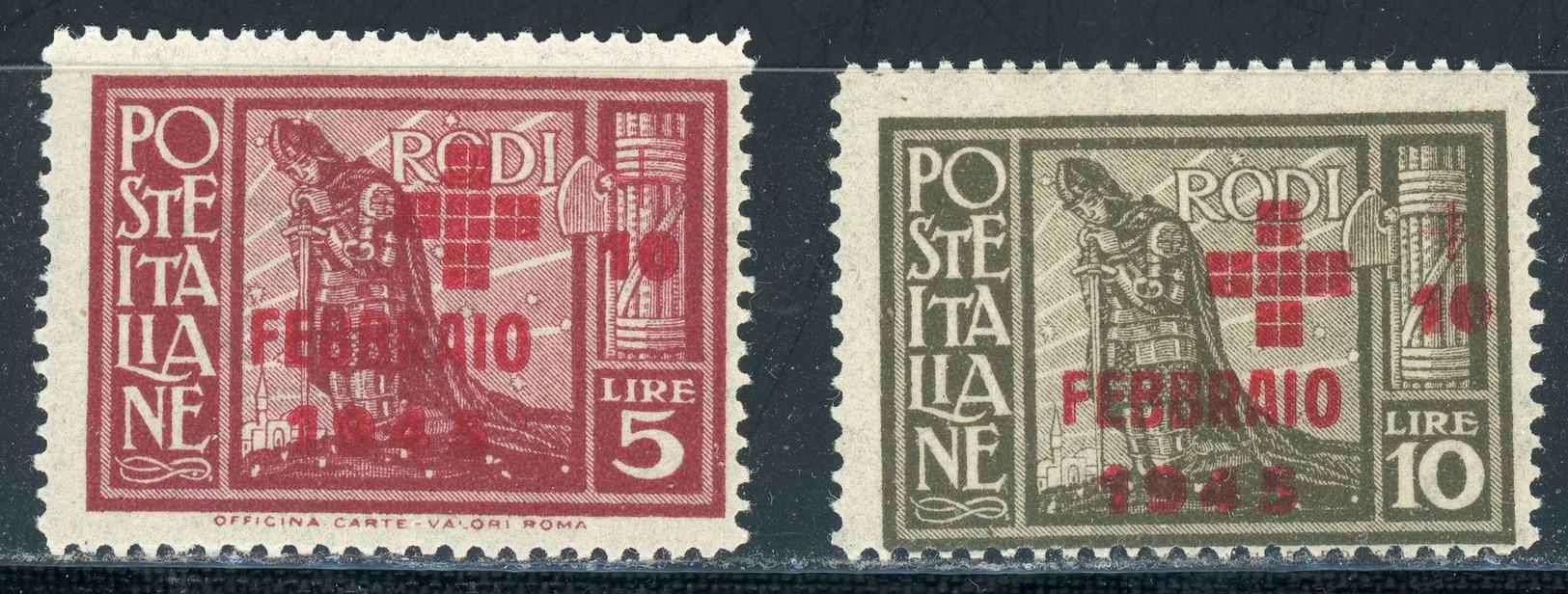 Ägäis Nr. 225 - 226 Postfrisch - Ägäis