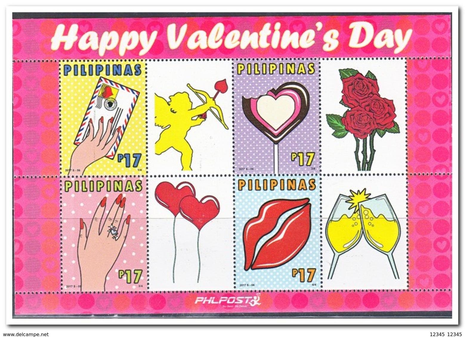 Philipijnen 2017, Postfris MNH, Happy Valentine's Day - Philippines