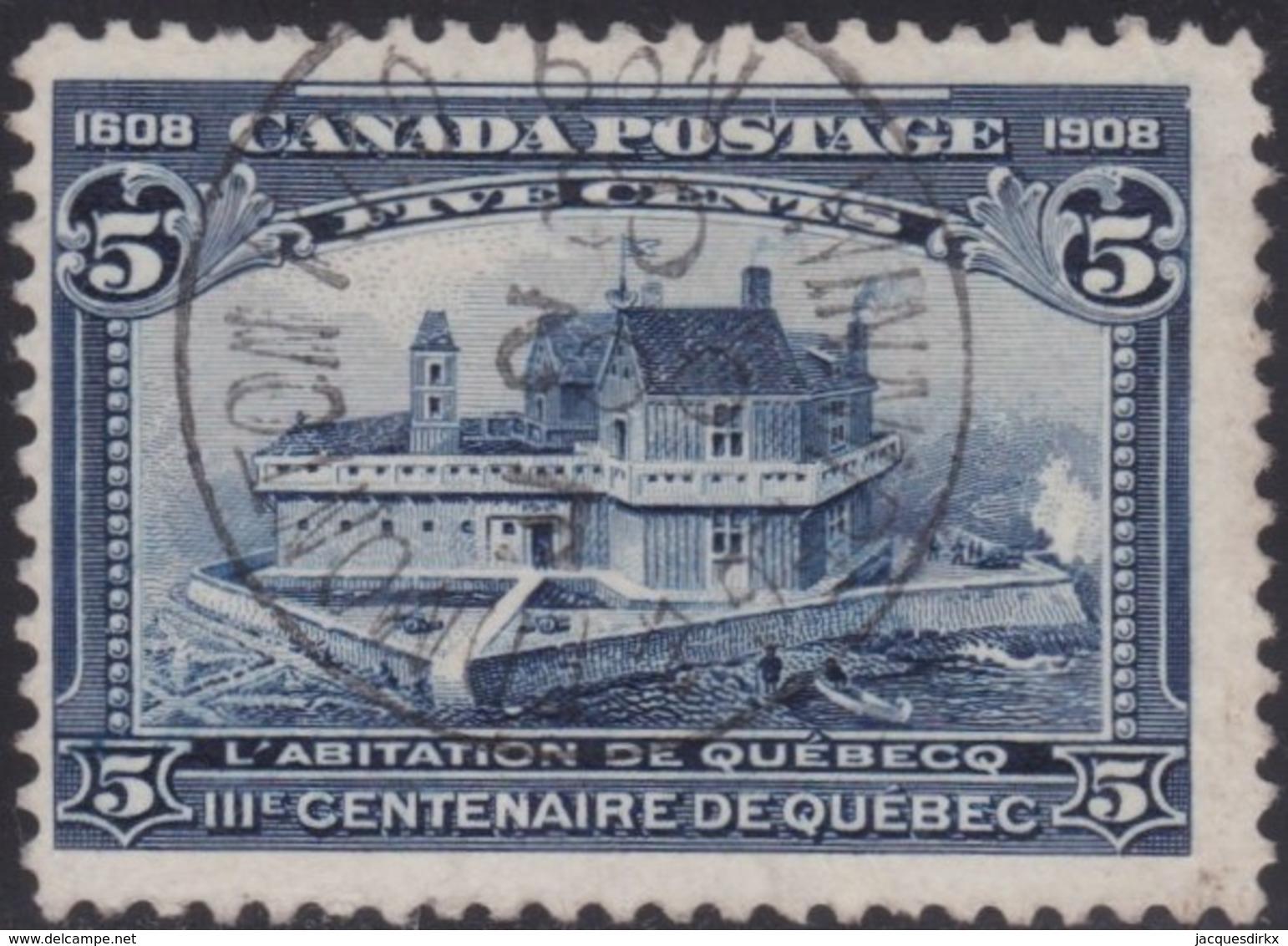 Canada   .   SG  .    191    .      O       .       Cancelled      .   /   .    Gebruikt - 1903-1908 Regering Van Edward VII