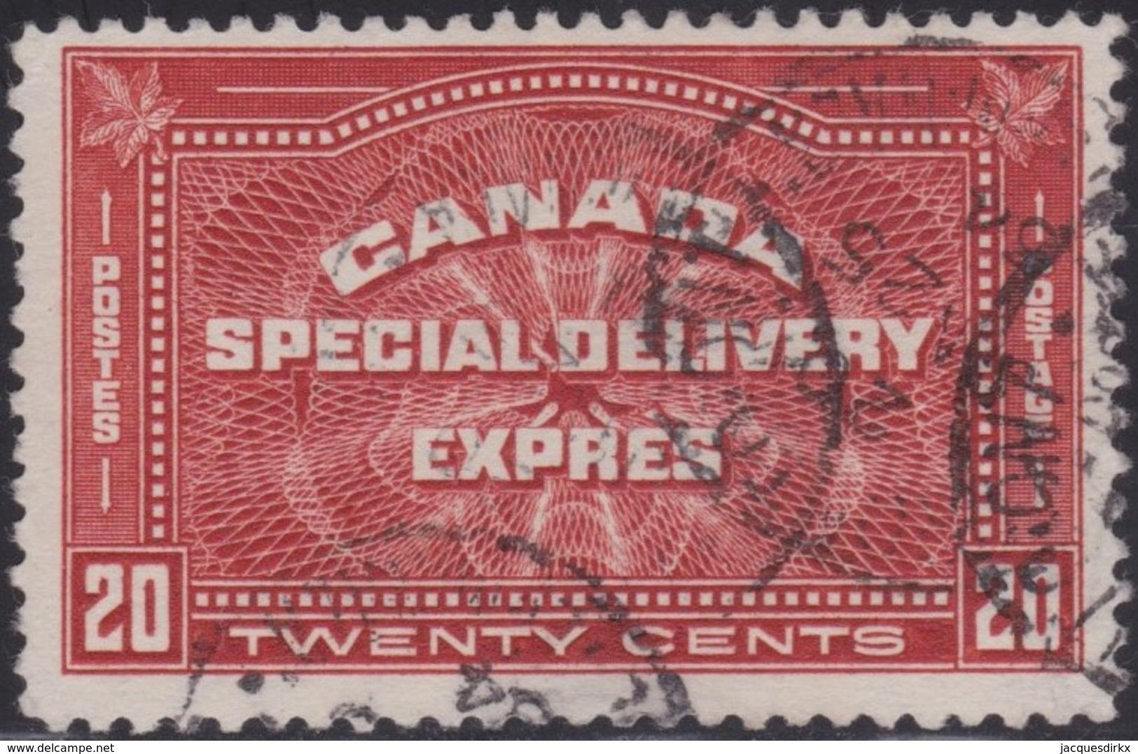 Canada   .   SG  .    S 6   .      O   .   Cancelled      .   /   .    Gebruikt - Express