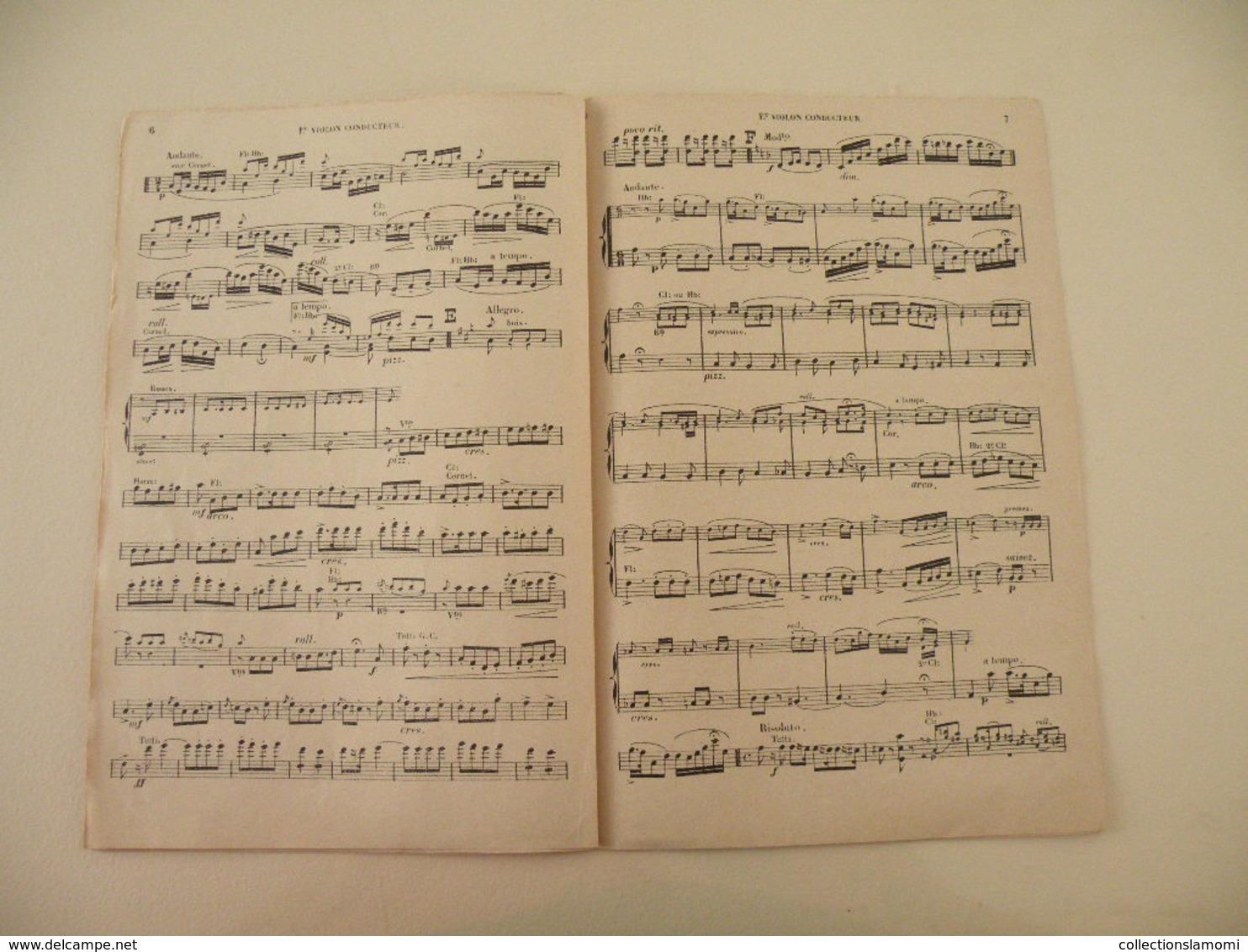 Fantaisie Sur La Fille De Madme Angot (CH. Lecocq Par E. Tavan)-(Opéra Comique) (Partition) - Opéra